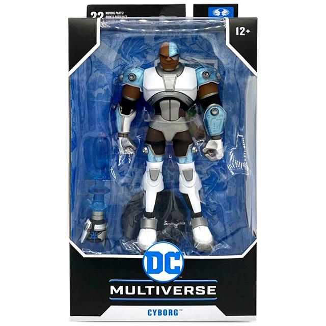 マクファーレントイズ DC マルチバース 7インチ アクションフィギュア 『ティーン・タイタンズ』 サイボーグ