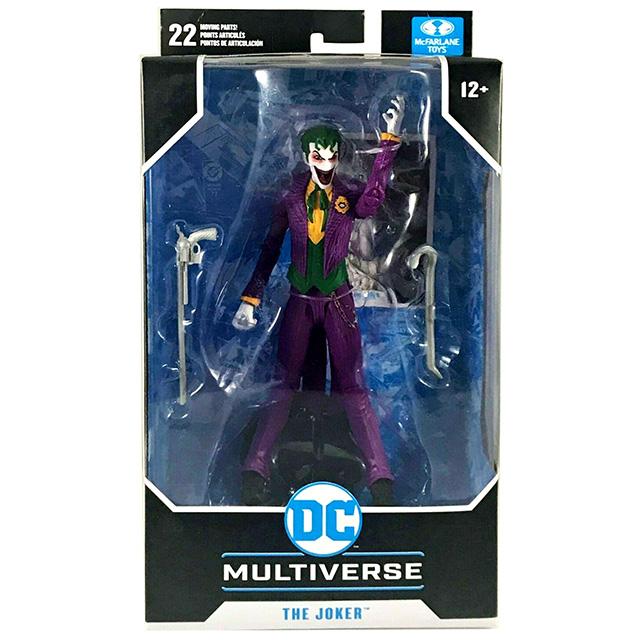 マクファーレントイズ DC マルチバース 7インチ アクションフィギュア 『DCリバース』 ジョーカー