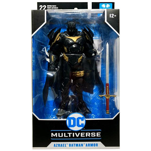 マクファーレントイズ DC マルチバース 7インチ アクションフィギュア 『バットマン:ホワイトナイト』 バットマンアーマー アズラエル