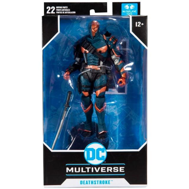 マクファーレントイズ DC マルチバース 7インチ アクションフィギュア 『バットマン:アーカム・ビギンズ』 デスストローク
