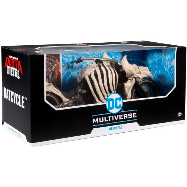 マクファーレントイズ DC マルチバース 7インチ アクションフィギュア デラックス ビークル 『ダークナイツ:デス・メタル』 バットサイクル