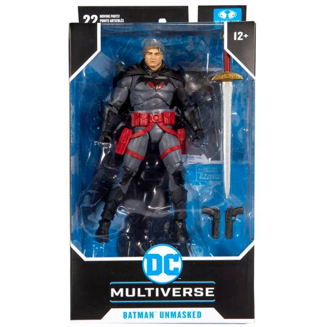 マクファーレントイズ DC マルチバース ターゲット限定 7インチ アクションフィギュア 『フラッシュポイント』 トーマス・ウェイン バットマン (アンマスク バージョン)