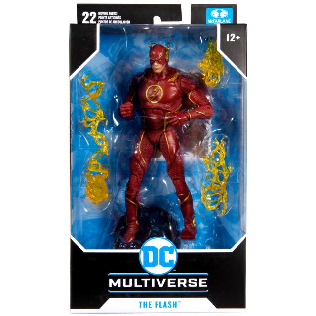 マクファーレントイズ DC マルチバース 7インチ アクションフィギュア 『インジャスティス2』 フラッシュ