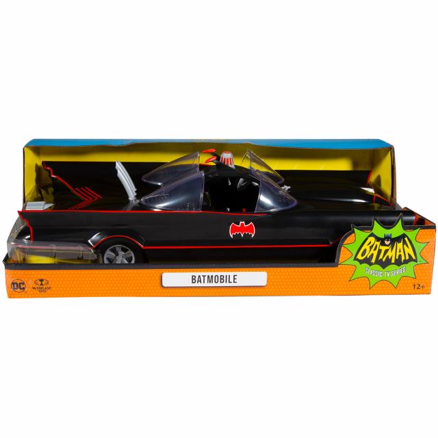 バットマン 1966 クラシック テレビシリーズ マクファーレントイズ DCレトロ 6インチ アクションフィギュア デラックス ビークル バットモービル 【パッケージダメージあり】