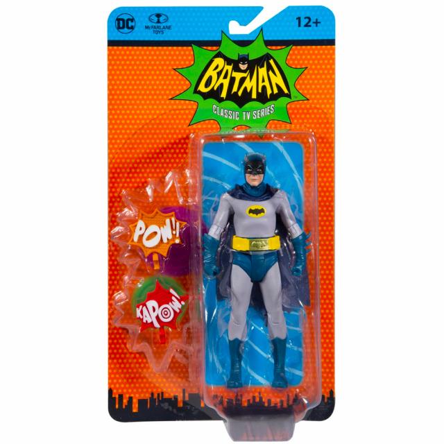 バットマン 1966 クラシック テレビシリーズ マクファーレントイズ DCレトロ 6インチ アクションフィギュア バットマン
