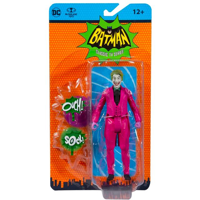 バットマン 1966 クラシック テレビシリーズ マクファーレントイズ DCレトロ 6インチ アクションフィギュア ジョーカー