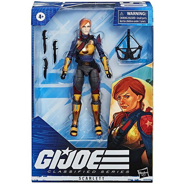 ハズブロ G.I.ジョー クラシファイドシリーズ 6インチ アクションフィギュア スカーレット