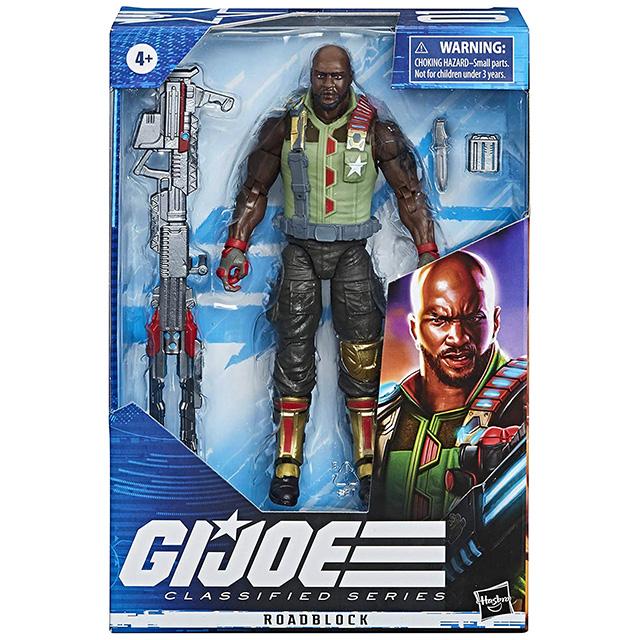 ハズブロ G.I.ジョー クラシファイドシリーズ 6インチ アクションフィギュア ロードブロック