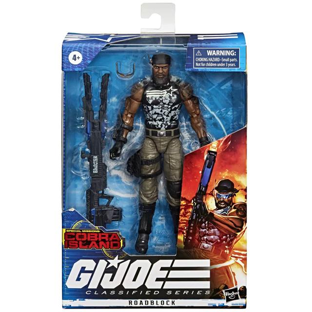 ハズブロ G.I.ジョー クラシファイドシリーズ ターゲット限定 6インチ アクションフィギュア ロードブロック (コブラ・アイランド)