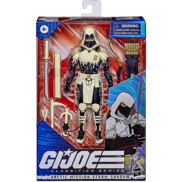 ハズブロ G.I.ジョー クラシファイドシリーズ 6インチ アクションフィギュア アークティック・ミッション ストームシャドウ