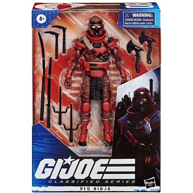 ハズブロ G.I.ジョー クラシファイドシリーズ 6インチ アクションフィギュア レッドニンジャ