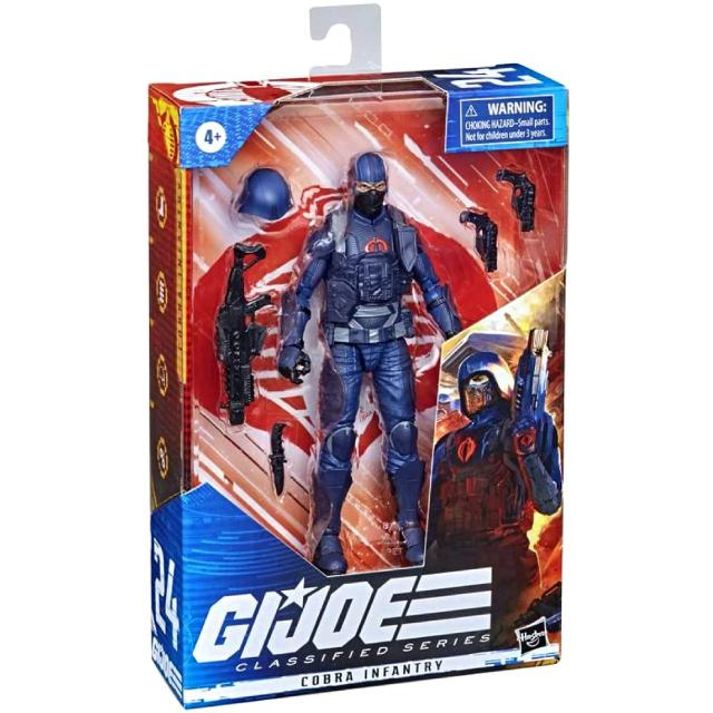 ハズブロ G.I.ジョー クラシファイドシリーズ 6インチ アクションフィギュア コブラ・インファントリー・トルーパー