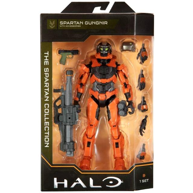 ジャズウェア HALO ヘイロー スパルタン・コレクション 6.5インチ アクションフィギュア スパルタン グングニル