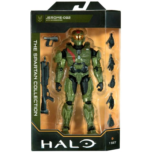 ジャズウェア HALO ヘイロー スパルタン・コレクション 6.5インチ アクションフィギュア ジェローム 092