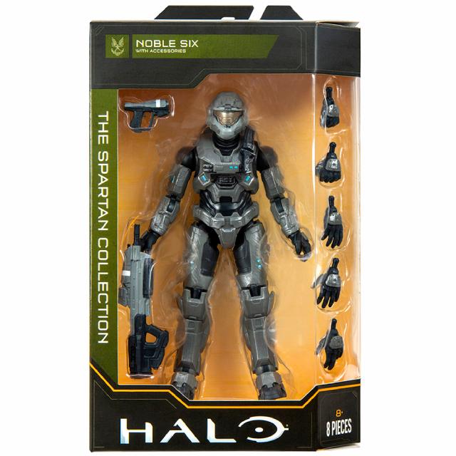 ジャズウェア HALO ヘイロー スパルタン・コレクション 6.5インチ アクションフィギュア シリーズ3 ノーブル・シックス 【パッケージダメージあり】