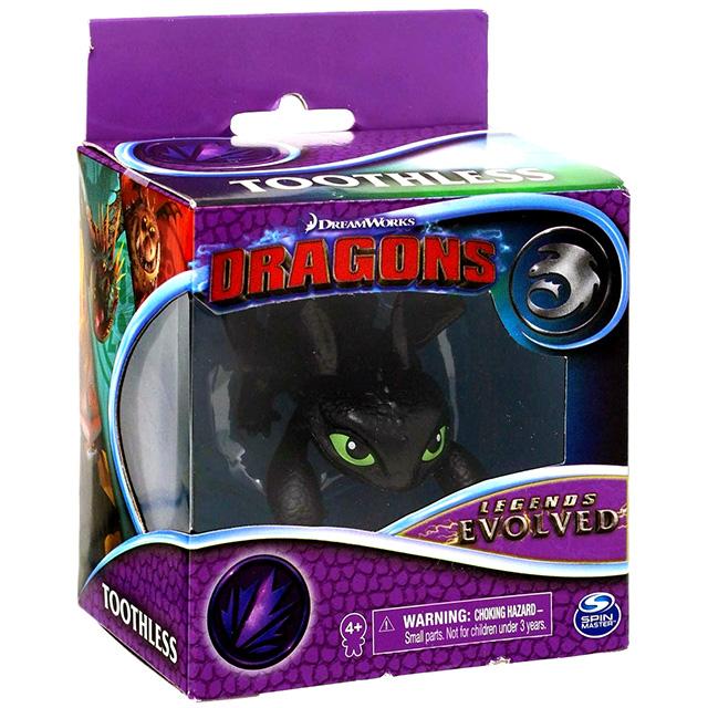 ヒックとドラゴン3 / 聖地への冒険 スピンマスター レジェンズ・エボルブド ミニフィギュア 1パック トゥース (ナイトフューリー)