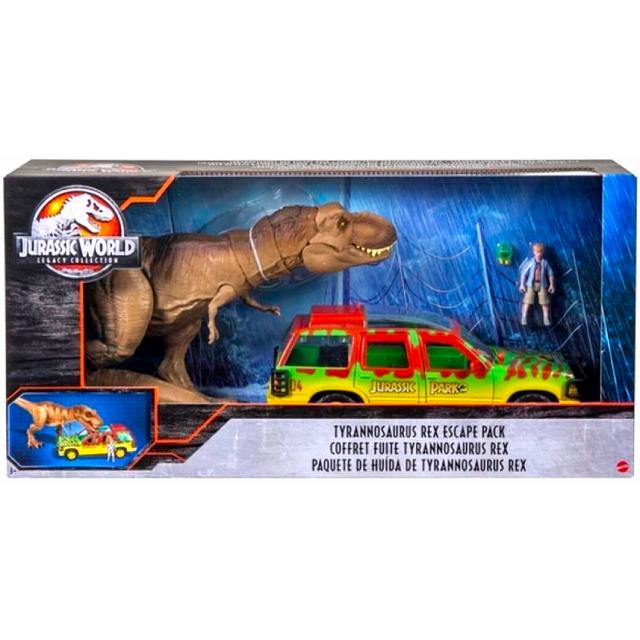 ジュラシック・ワールド レガシー・コレクション マテル デラックス フィギュアパック ティラノサウルス レックス エスケープ パック