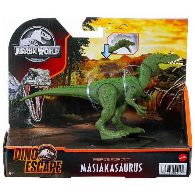 ジュラシック・ワールド マテル ダイノ・エスケープ フィアース・フォース アクションフィギュア マシアカサウルス