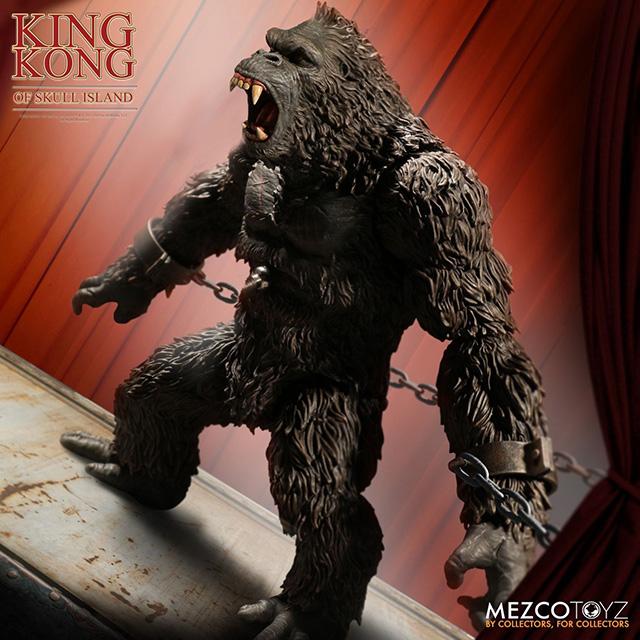 キング・コング スカルアイランド メズコ 7インチ アクションフィギュア キングコング