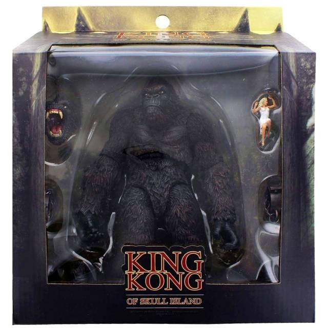 キング・コング:スカル・アイランド メズコ 7インチ アクションフィギュア キングコング