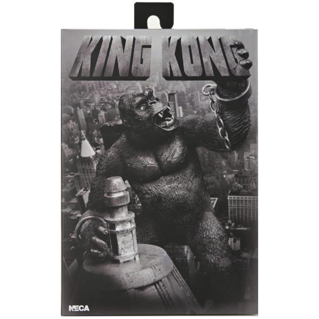 キング・コング ネカ 7インチ アルティメット アクションフィギュア キングコング (コンクリート・ジャングル バージョン)