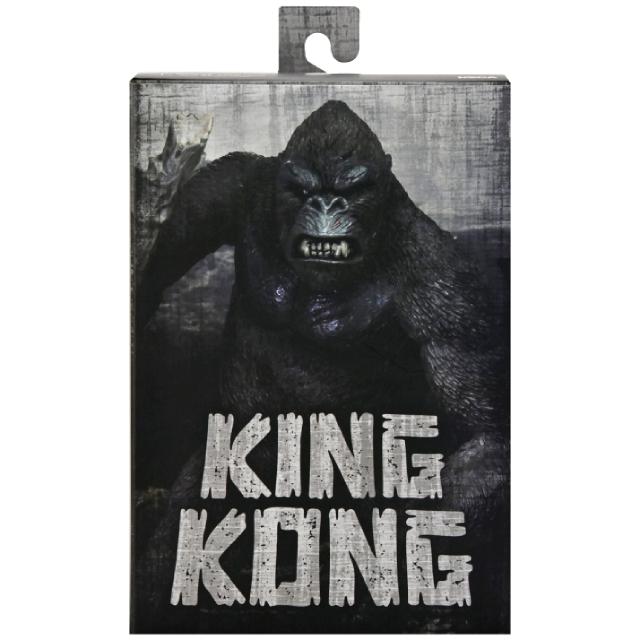 キング・コング ネカ 7インチ アルティメット アクションフィギュア キングコング (スカル・アイランド バージョン)