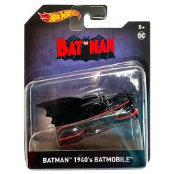 バットマン マテル 2020 ホットウィール 1/50スケール ダイキャストビークル 『1940s コミックシリーズ』 バットモービル