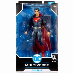 ジャスティス・リーグ:スナイダー・カット マクファーレントイズ DC マルチバース ターゲット限定 7インチ アクションフィギュア スーパーマン (赤/青 スーツ バージョン)