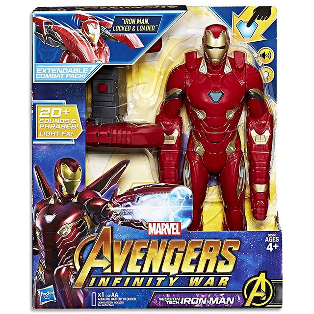 Marvel 20-inch Iron Man Action Figure Avengers Hasbro