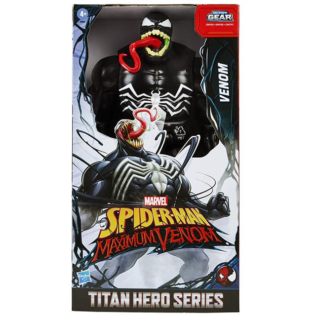 スパイダーマン:マキシマム・ヴェノム 2020 ディズニーXD アニメイテッドシリーズ タイタンヒーローズ 12インチ フィギュア ヴェノム