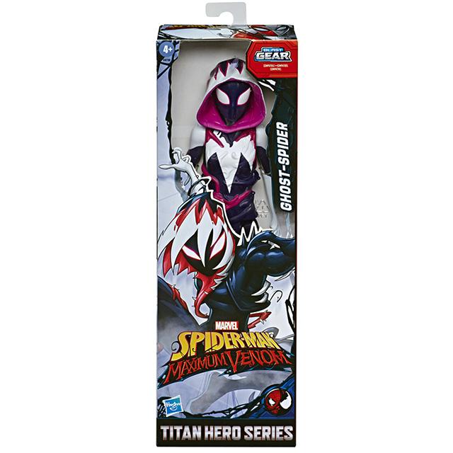 スパイダーマン:マキシマム・ヴェノム 2020 ディズニーXD アニメイテッドシリーズ タイタンヒーローズ 12インチ フィギュア ゴーストスパイダー