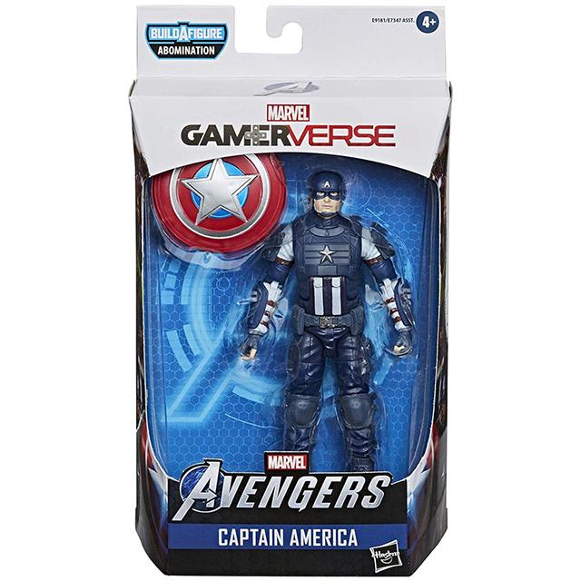 ハズブロ マーベル・ゲーマーバース マーベルレジェンド 6インチ アクションフィギュア アボミネーションシリーズ キャプテン・アメリカ