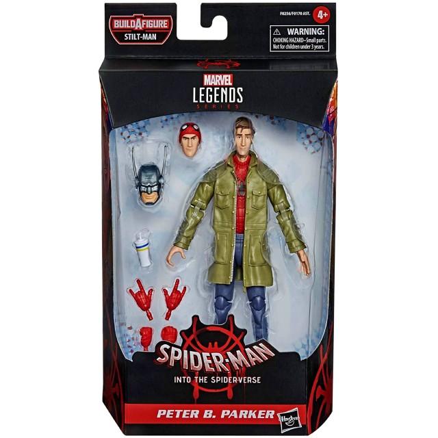 ハズブロ スパイダーマン:スパイダーバース マーベルレジェンド 6インチ アクションフィギュア スティルトマンシリーズ ピーター・B・パーカー スパイダーマン