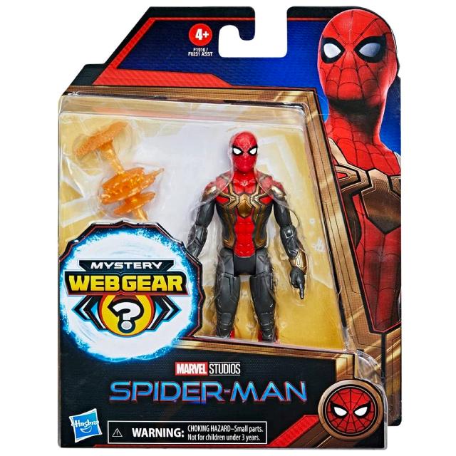 ハズブロ スパイダーマン / ノー・ウェイ・ホーム 6インチ ベーシックフィギュア アイアン・スパイダーマン