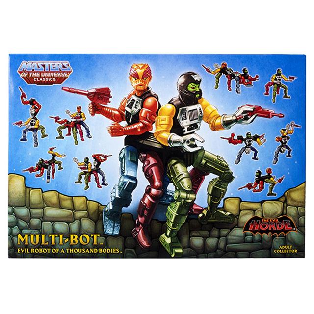 マテル マスターズ・オブ・ザ・ユニバース クラシックス 6インチ デラックス アクションフィギュア マルチボット