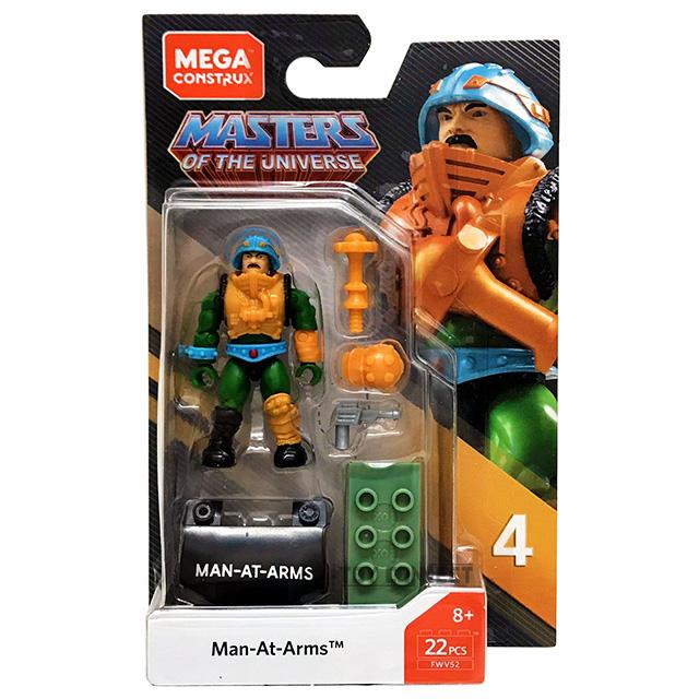マスターズ・オブ・ザ・ユニバース メガコンストラックス ヒーローズ ブロックフィギュア 1パック マン・アット・アームズ