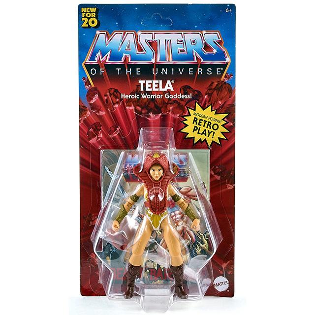 マテル マスターズ・オブ・ザ・ユニバース オリジンズ 5.5インチ アクションフィギュア ティーラ