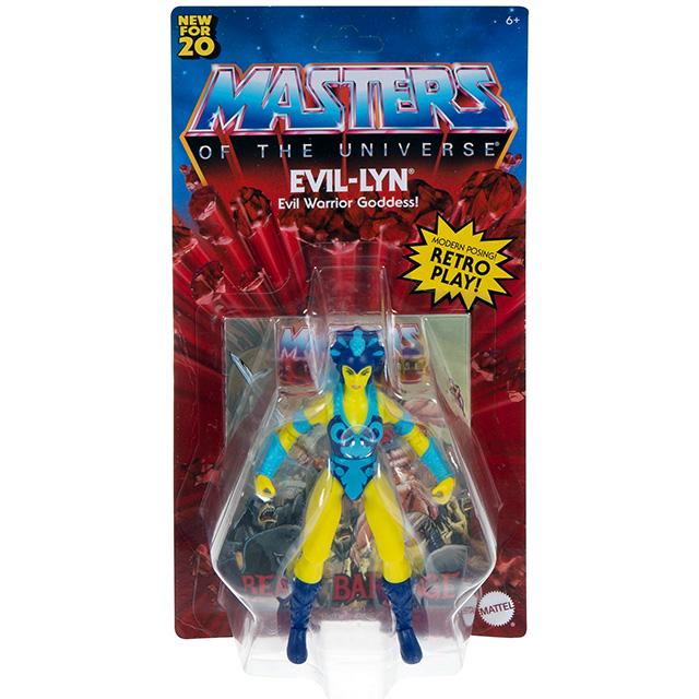 マテル マスターズ・オブ・ザ・ユニバース オリジンズ 5.5インチ アクションフィギュア エビル・リン