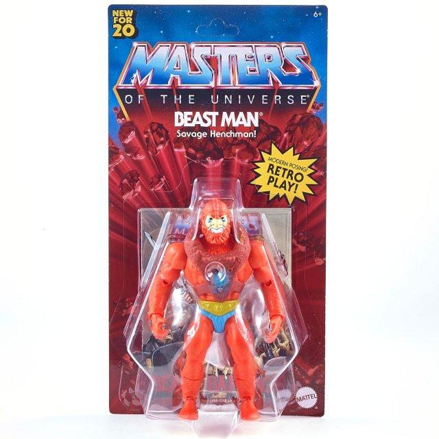 マテル マスターズ・オブ・ザ・ユニバース オリジンズ 5.5インチ アクションフィギュア ビーストマン