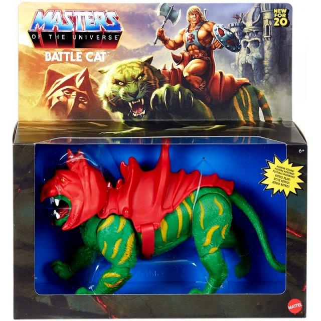 マテル マスターズ・オブ・ザ・ユニバース オリジンズ 5.5インチ アクションフィギュア デラックスパック バトルキャット