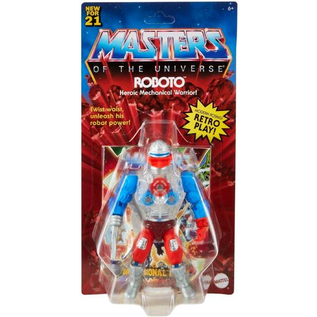 マテル マスターズ・オブ・ザ・ユニバース オリジンズ 5.5インチ アクションフィギュア ロボト