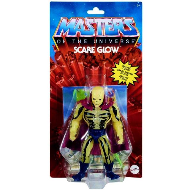 マテル マスターズ・オブ・ザ・ユニバース オリジンズ 5.5インチ アクションフィギュア スケアグロウ