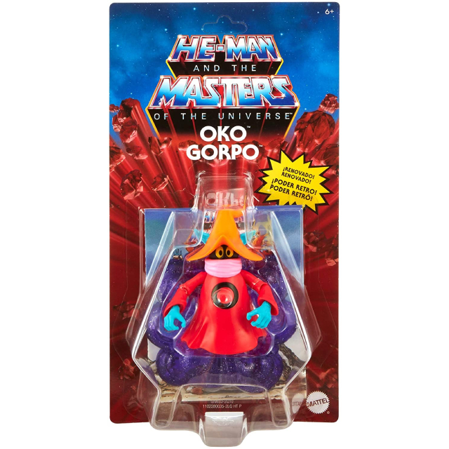 マテル マスターズ・オブ・ザ・ユニバース オリジンズ 5.5インチ アクションフィギュア オルコ