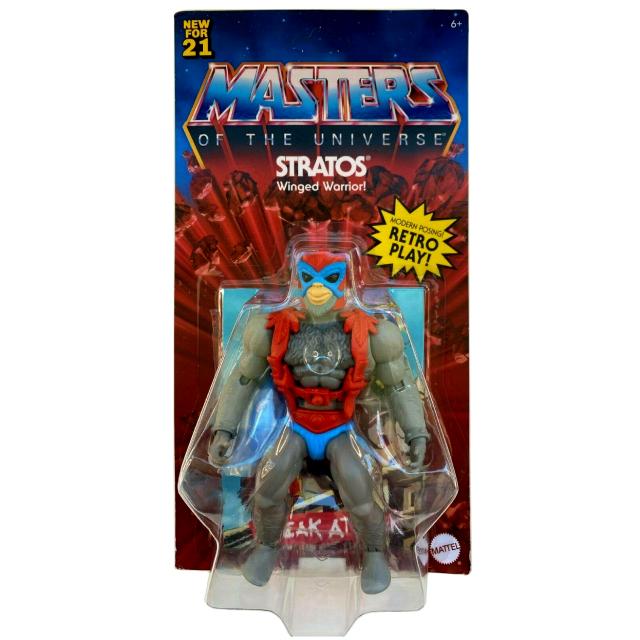 マテル マスターズ・オブ・ザ・ユニバース オリジンズ 5.5インチ アクションフィギュア ストラトス