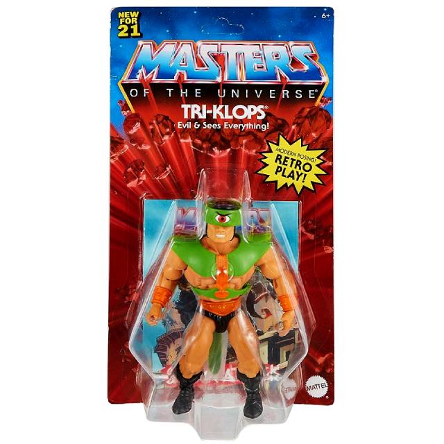 マテル マスターズ・オブ・ザ・ユニバース オリジンズ 5.5インチ アクションフィギュア トライクロップス