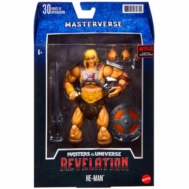 マテル マスターズ・オブ・ザ・ユニバース:リベレーション ネットフリックス オリジナルシリーズ マスターバース 7インチ アクションフィギュア ヒーマン