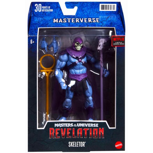 マテル マスターズ・オブ・ザ・ユニバース:リベレーション ネットフリックス オリジナルシリーズ マスターバース 7インチ アクションフィギュア スケルター