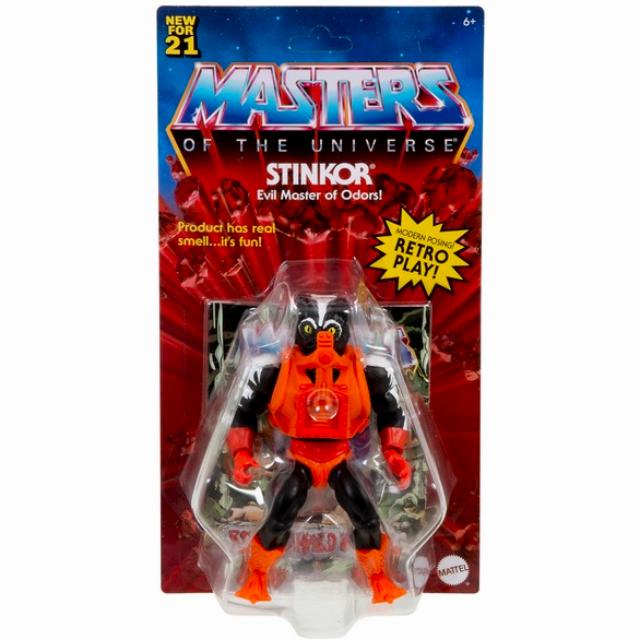 マテル マスターズ・オブ・ザ・ユニバース オリジンズ 5.5インチ アクションフィギュア スティンカー