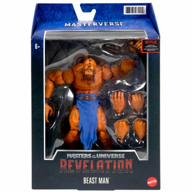 マテル マスターズ・オブ・ザ・ユニバース:リベレーション ネットフリックス オリジナルシリーズ マスターバース 7インチ アクションフィギュア ビーストマン