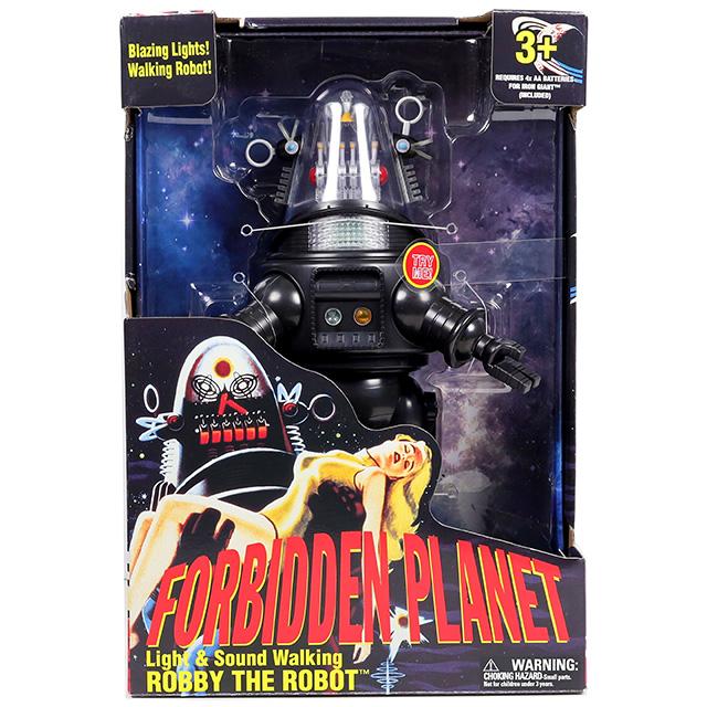 禁断の惑星 14インチ ライト&サウンド ウォーキング フィギュア ロビー・ザ・ロボット